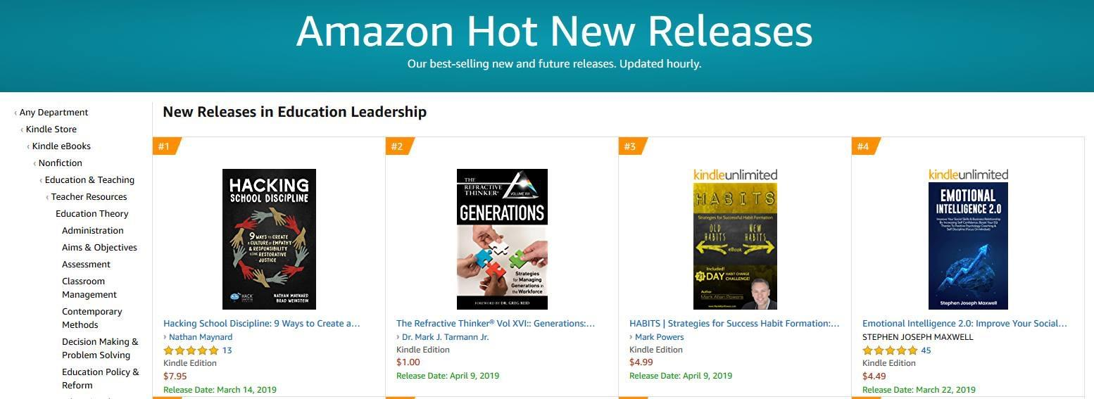 The Refractive Thinker Volume xvl is becoming Best Sellers in 6 US Categories